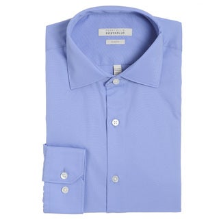 Perry Ellis Slim Fit Wrinkle Free Dress Shirt