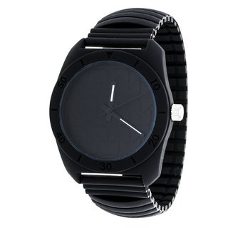 RBX Active Analog Silicone Stretch Watch - Black