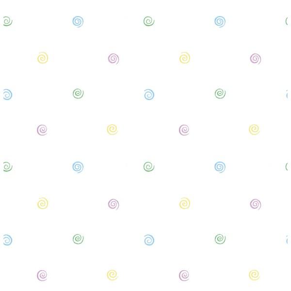Shop Purplebluewhite Polka Dot Wallpaper Free Shipping On Orders