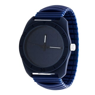 RBX Analog Silicone Stretch Watch - Navy