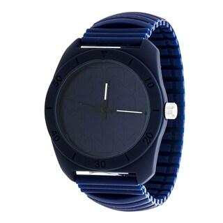 RBX Analog Silicone Stretch Watch - Navy