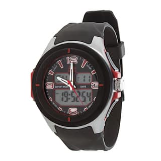 RBX Active Analog & Digital Multifunction Rubber Watch - Red https://ak1.ostkcdn.com/images/products/14523060/P21077110.jpg?impolicy=medium
