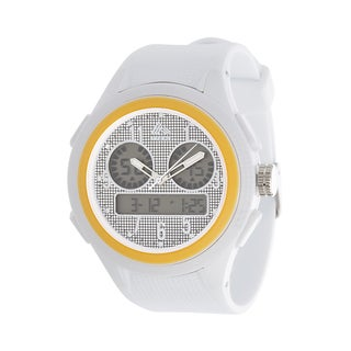 Analog Active Active Multifunction RBX Rubber Watch - White