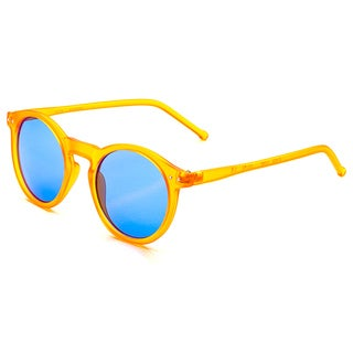 Pop Fashionwear P2122 Unisex Retro Fashion Round Frame Sunglasses