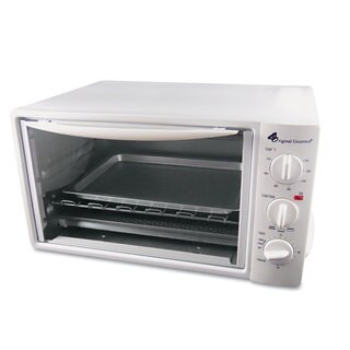 Coffee Pro Multi-Function Toaster Oven with Multi-Use Pan 15 x 10 x 8 White