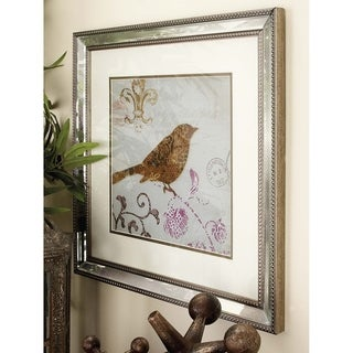 'Canvas Arts' Polystone Mirror Framed Art (Set of 2)