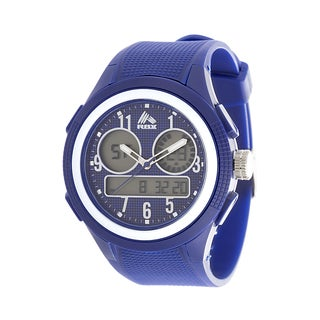 Analog Active Multifunction RBX Rubber Watch - Navy