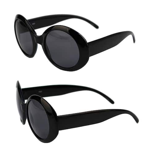 Women's Circle Round Jackie O Bold Chic Sunglasses P547