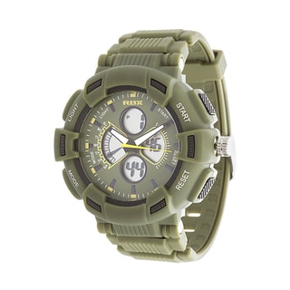 RBX Active Analog & Digital Rubber Watch - Olive