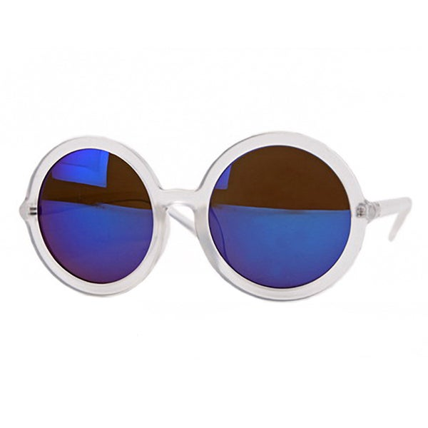 6a155118afe Shop Pop Fashionwear P2201 Unisex Fashion Round Retro Sunglasses ...