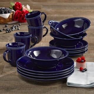 American Atelier Indigo 16-piece Dinnerware Set
