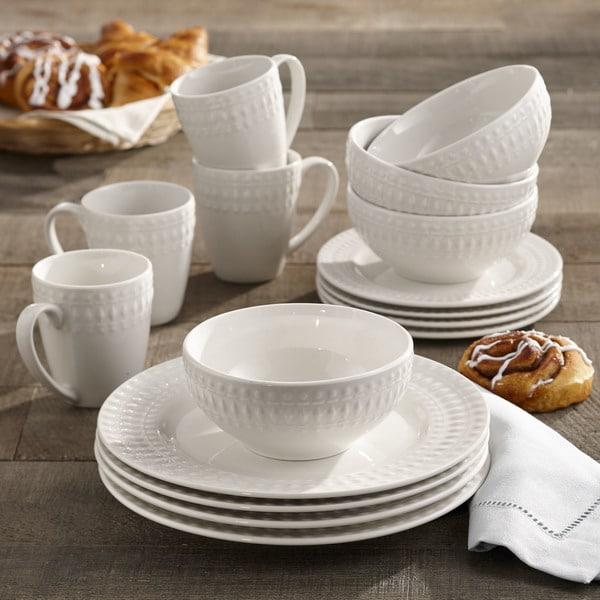 American Atelier Amelie Porcelain 16-piece Dinnerware Set & Shop American Atelier Amelie Porcelain 16-piece Dinnerware Set ...