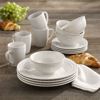 American Atelier Monique Porcelain 16-piece Dinnerware Set