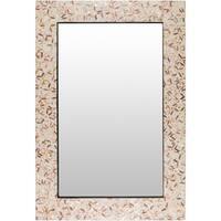Komydi Wall Mirror (29.5 x 43.3) - Brown