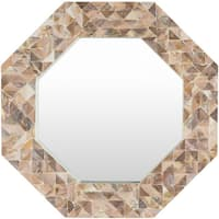 Estlene Wall Mirror (21.7 x 21.7) - Copper