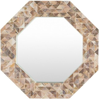 MDF Estlene Wall Mirror (21.7 x 21.7) - Copper
