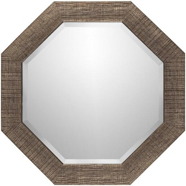 "Angline Crosshatch Wall Mirror (24 x 24) - Copper - 24"" x 24"""