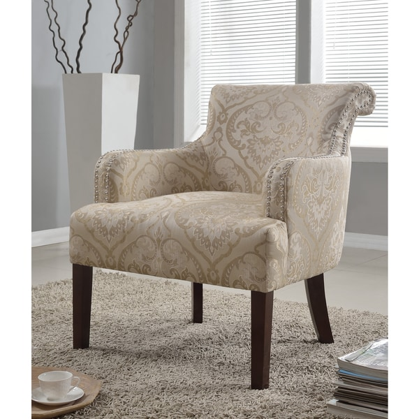 Taupe Accent Chairs.Best Master Furniture 588 Taupe Khaki Accent Chair