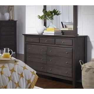 City II Basalt Gray 9-drawer Dresser