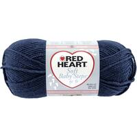 Red Heart Soft Baby Steps Yarn-Navy