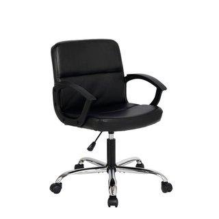 Viva Office Ergonomic Mid-back Bonded Leather Office Chair