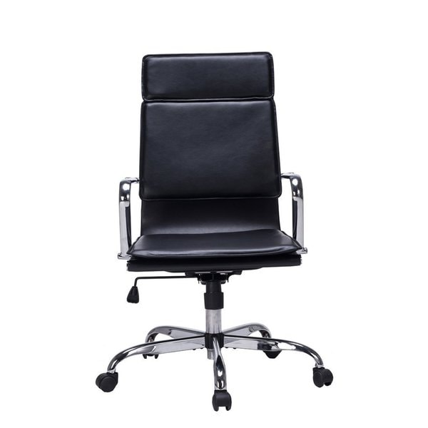 Viva Office Modern High Back Bonded Leather Cushioned Seating Office Task  Chair