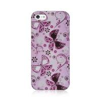 Insten Purple Hard Snap-on Case Cover For Apple iPhone 5/ 5S/ SE