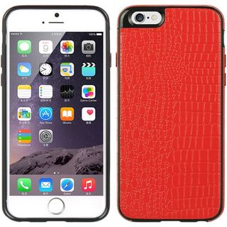 Insten Red Leather TPU Case Cover For Apple iPhone 6/ 6s