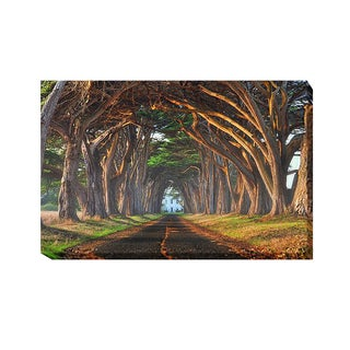 Lee Sie 'Tunnel of Light' Gallery-Wrapped Canvas Giclee Art