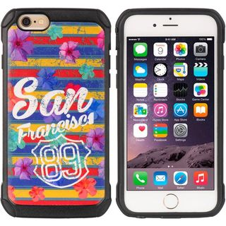 Insten Colorful Hard Snap-on Dual Layer Hybrid Case Cover For Apple iPhone 6/ 6s