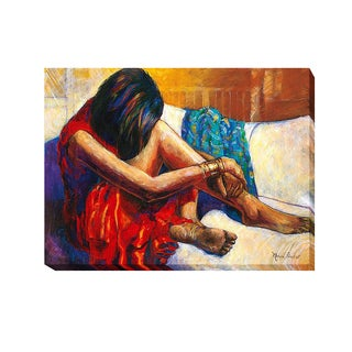 Monica Stewart 'Repose' Gallery-wrapped Canvas Giclee Art