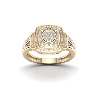 De Couer 1/10ct TDW Diamond Engagement Ring