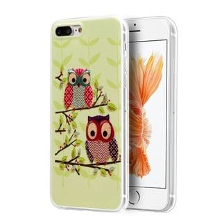 Insten Owl TPU Rubber Candy Skin Case Cover For Apple iPhone 7 Plus