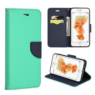 Insten Leather Case Cover Lanyard with Stand/ Wallet Flap Pouch For Apple iPhone 7 Plus