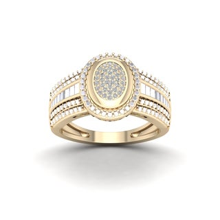 De Couer 1/10ct TDW Diamond Engagement Ring (H-I, I2)