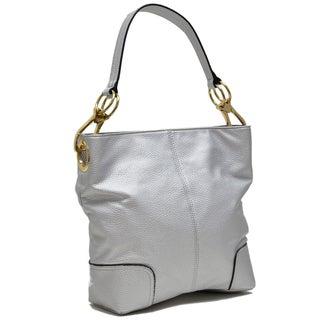 Dasein Classic Large Corner Patched Hobo Handbag