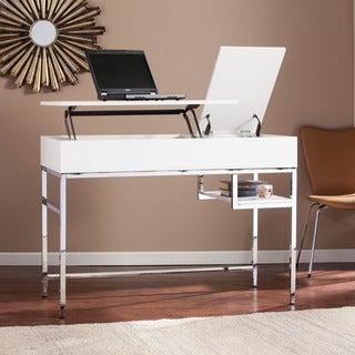 Harper Blvd Audsley White Adjustable Height Sit/ Stand Desk