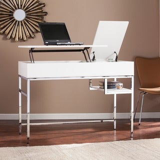 Harper Blvd Audsley White Adjustable Height Sit/ Stand Desk