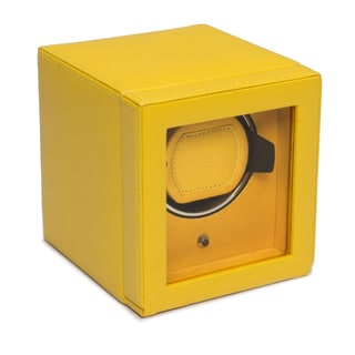 Covered Cub Yellow Faux Leather Watch Winder