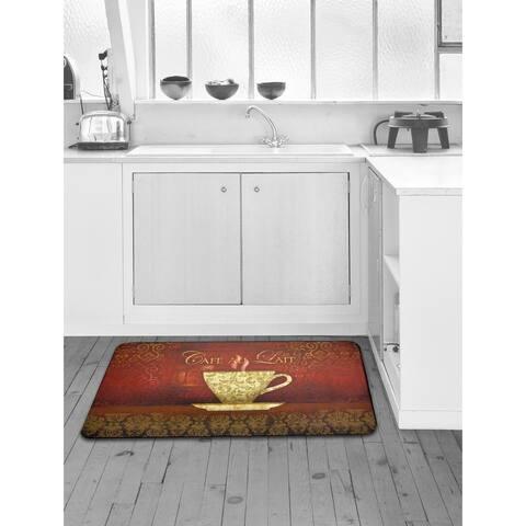 Designer Chef Series Antifatigue Kitchen Mat - multi