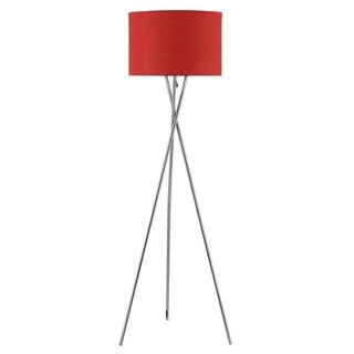 Euro Style Collection Lisboa Red 63-inch Tripod Floor Lamp