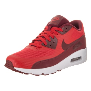 Nike Men's Air Max 90 Ultra 2.0 Essential Red Synthetic Leather Running Shoes