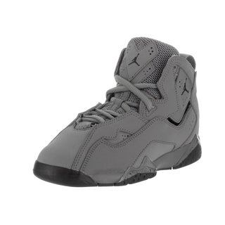 Nike Jordan Kid's Jordan True Flight Bp Grey Nubuck Basketball Shoes