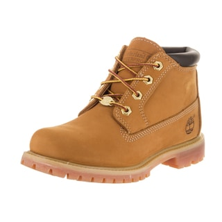Timberland Women's Nellie Yellow Nubuck Waterproof Chukka Boot