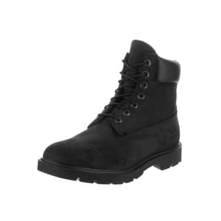 Timberland Men's Black Nubuck 6-Inch Basic Waterproof Boots|https://ak1.ostkcdn.com/images/products/14532273/P21085250.jpg?impolicy=medium