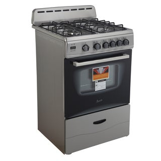 stove 24 inch electric. avanti gr2416css 24-inch gas range stainless steel stove 24 inch electric