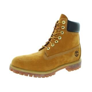 Timberland Men's Wheat Nubuck Premium Boot