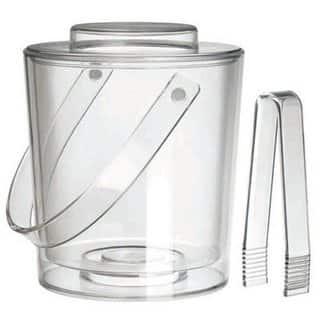 Felli Clear Acrylic Ice Bucket|https://ak1.ostkcdn.com/images/products/14532358/P21085331.jpg?impolicy=medium