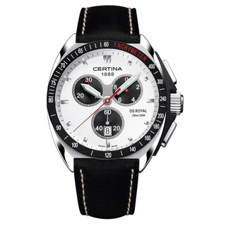 CERTINA DS Royal Silver Dial Leather Men's Watch