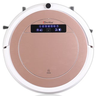 iTouchless UV-C Sterilizer Pink Robot Vacuum Cleaner with HEPA Filter